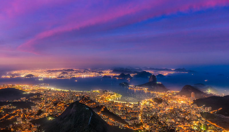 The View from Corcovado