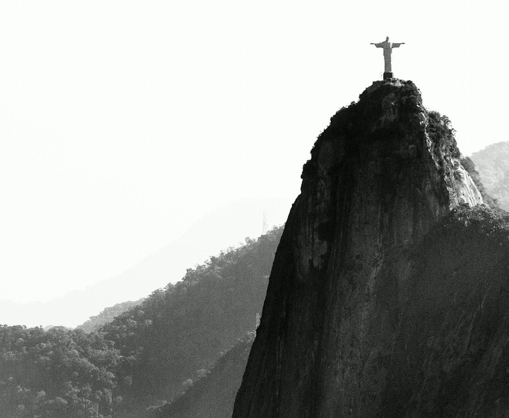 Christ The Redeemer from Sugarloaf. Rio, Brazil. June 2014.