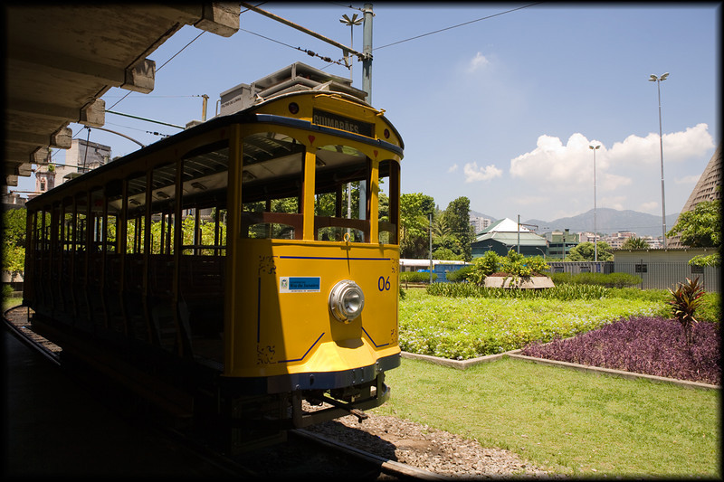 Santa Teresa trolley, Santa Teresa, Rio, Brazil
