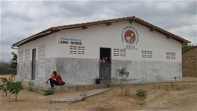 Unicef-project Jornada Ampliada de Lagoa Grande, Brazilië.