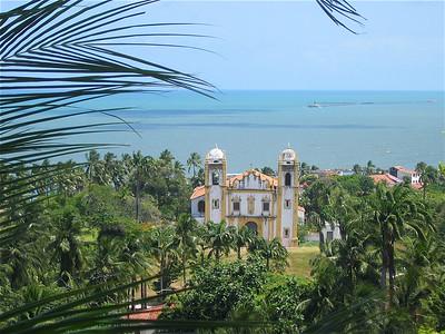 Seminário de Olinda e Igreja Nossa Senhora da Graça. Olinda, Brazilië.
