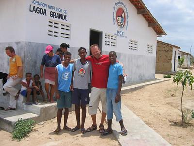 Vrienden voor het leven. Lagoa Grande, Brazilië.