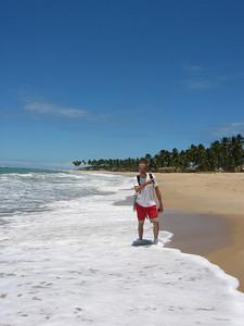 La Playa de Porto de Galinhas, Brazilië.