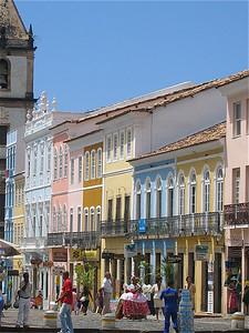 Salvador de Bahia, Brazilië.