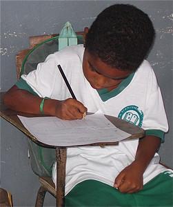 IJverig. Jornada Ampliada Conceicão do Coite, Brazilië.