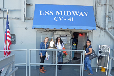 Brazilian Elementary Teachers Erica and Eline on Tour of the Midway