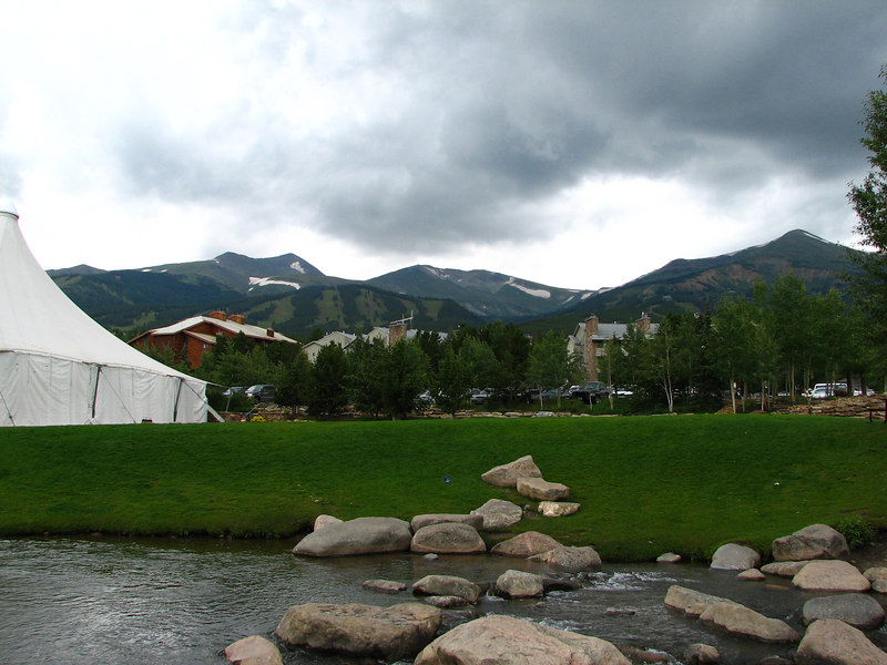 A view from downtown Breckenridge.
