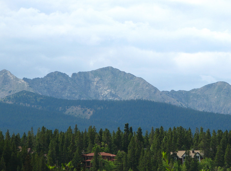 The mountains all around Breckenridge really are incredible sights.