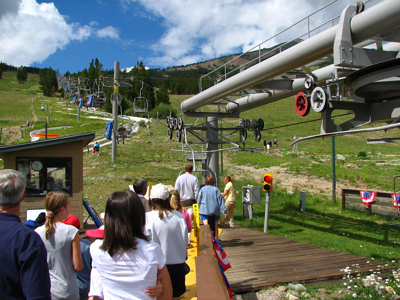 Our trip up to Peak 8 & the Alpine Slide.