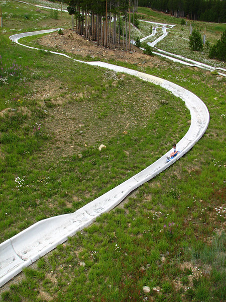 That Alpine slide was cool!