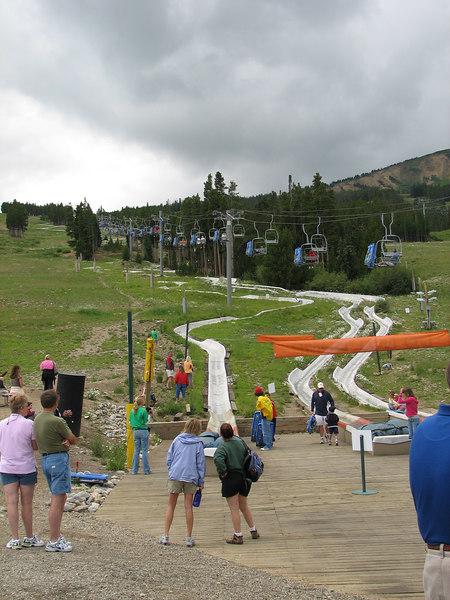 Alpine slide.