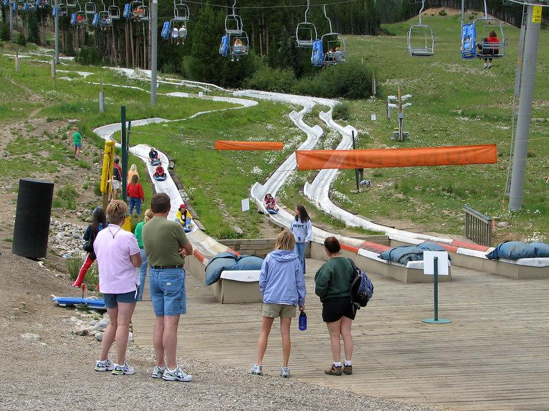 Alpine slide.