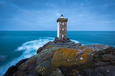 Kermorvan lighthouse, Bretagne, France, 2018