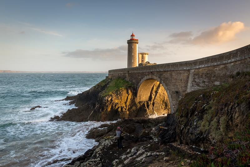 Le Petit Minou lighthouse, Bretagne, France, 2018