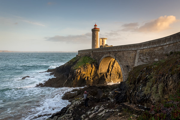 Le Petit Minou lighthouse, Bretagne, France, 2018