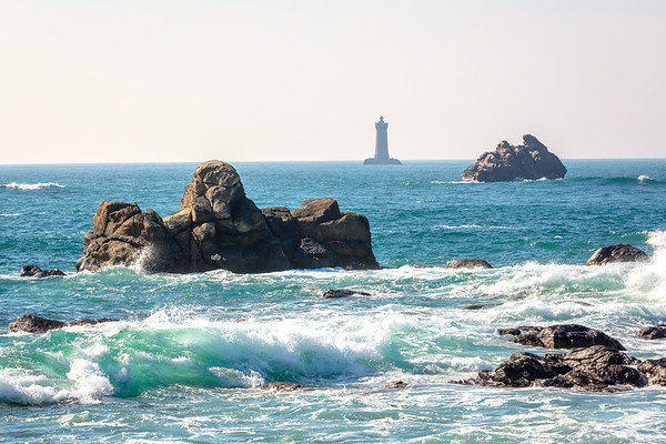 Presquile Saint-Laurent lighthouse, Porspoder, Bretagne, France, 2018