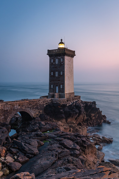 Kermorvan lighthouse, Bretagne, France, 2018