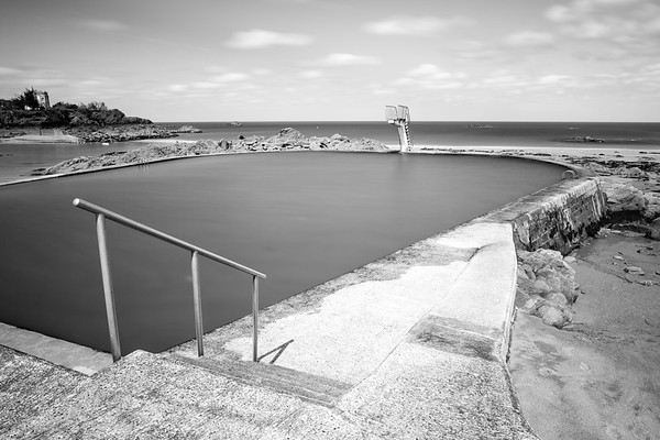Swimming pool, Saint-Quay-Portrieux, Bretagne, France, 2018