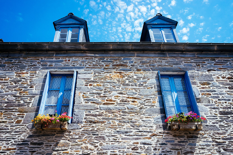 La Gacilly - Typical old house