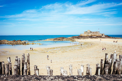 Saint Malo - Plage de l'Eventail