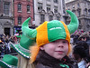 St. Patrick's Day parade in Dublin, Ireland.