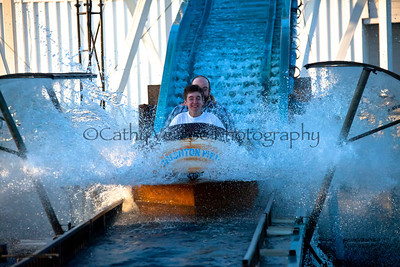 Log Flume Ride at Brighton Beach
