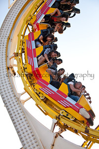 Roller Coaster ride at Brighton Beach