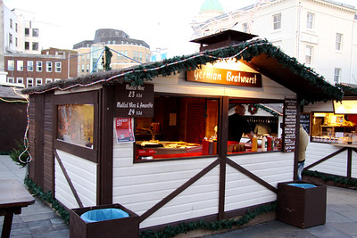 German Bratwurst in Brighton
