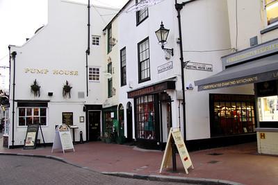 'The Lanes' shopping area, Brighton