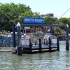 Bretts Wharf used by CityCat Ferry along the Brisbane River in Brisbane, Australia.