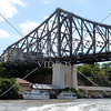 Story Bridge spanning the Brisbane River in Brisbane, Australia.