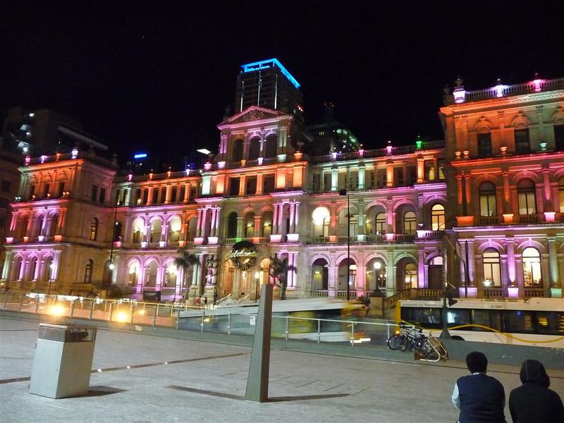 Brisbane Square and Condrad Casino.