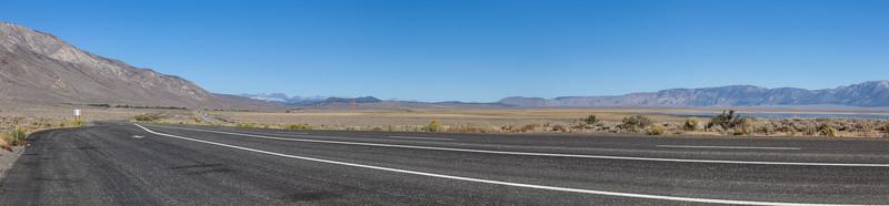 Panorama of Highway 395