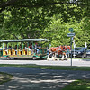 Horse-drawn trolley, Stanley Park