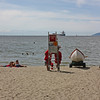 Third Beach, Stanley Park - when did you last see a lifeguard on the beach?