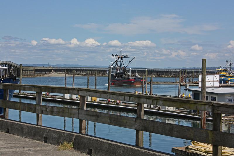 Westport, WA - boat setting out
