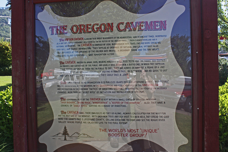 Story of the Oregon Cavemen.  Enlarge it and read it.  There's nothing more I can say about it.