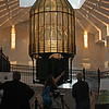 Fresnel lens from old Westport lighthouse