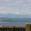Olympic Peninsula from Westport Harbor