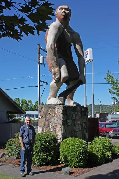 The type specimen Oregon Caveman (plus Jim)