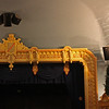 Proscenium and ceiling, 7th Street Theatre, Hoquiam, WA.  Note the curved ceiling; wonderful acoustics!