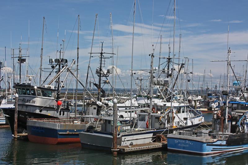 Working boats, Westport, WA harbor