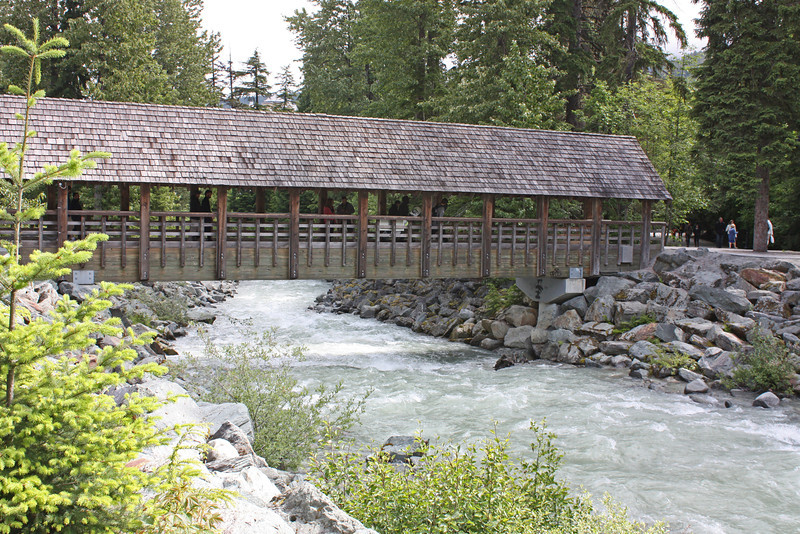 Covered bridge, Fitzsimmons Creek, Whistler