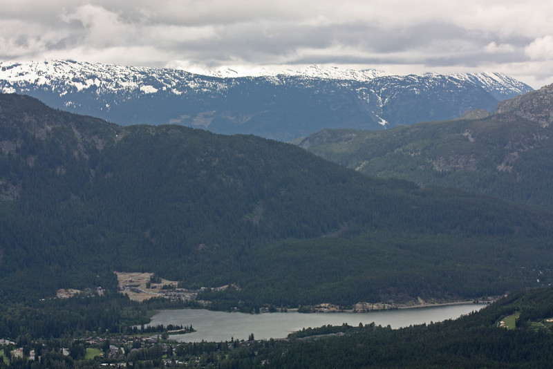 Green Lake, from Whistler Mt.