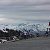 From Whistler Mountain - believe me it was a lot colder than those t-shirts imply!