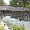 Covered bridge, Fitzsimmons Creek, Whistler