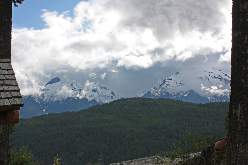 Mountains along Sea-to-Sky Highway
