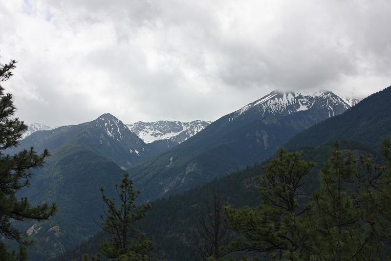 Mountains above Whistler