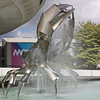 """The Crab"" - Vancouver Science Center fountain"