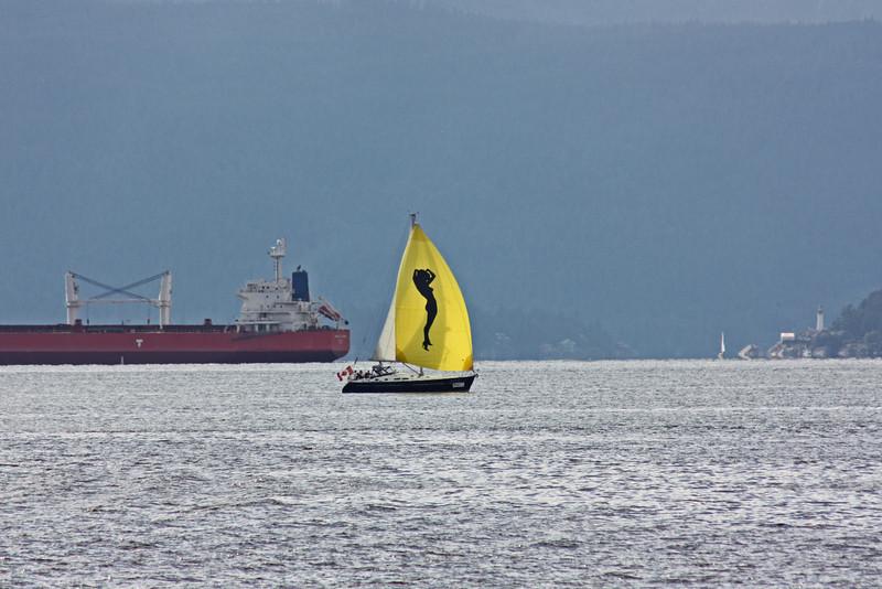 Boat, English Bay